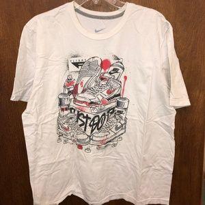 Shirt Air Jordan Graffiti Tee Mens Nike OuPXkiZ